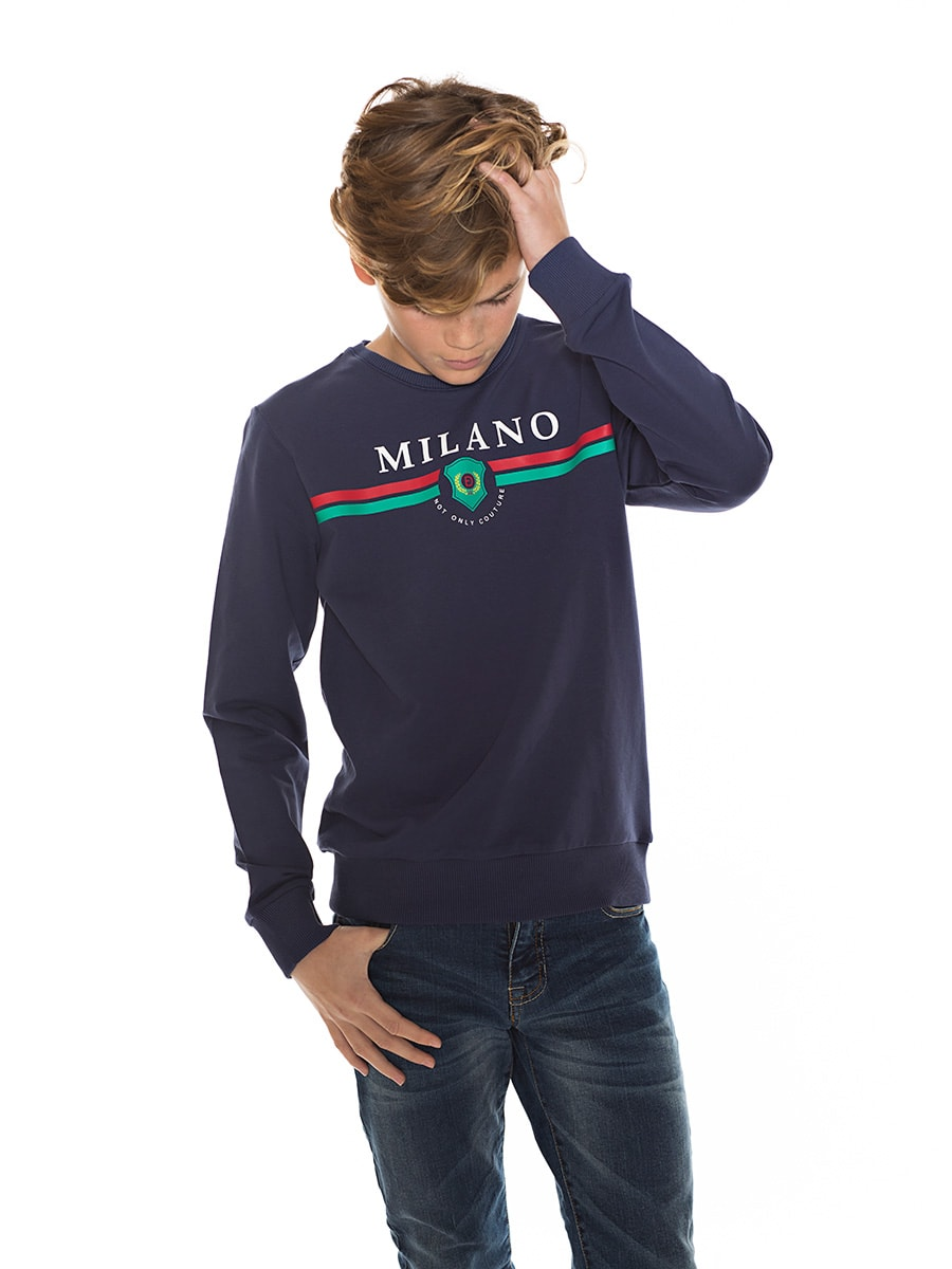 MILANO SWEAT navy