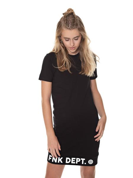 LOGO DRESS black